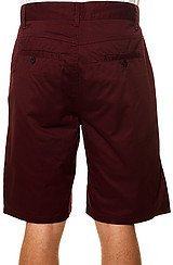 The Gridley Deck Fit Shorts in Burgundy