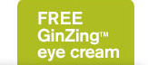 FREE GinZing eye cream