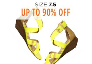Up to 90% Off Shoes: Size 7.5