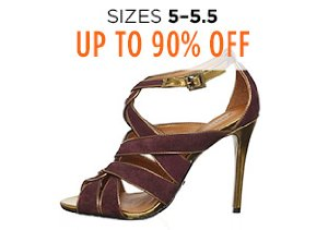 Up to 90% Off Shoes: Sizes 5-5.5