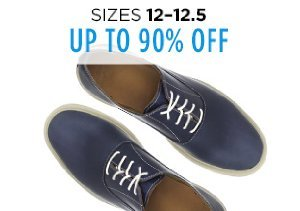 Up to 90% Off Shoes: Sizes 12-12.5