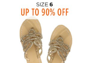 Up to 90% Off Shoes: Size 6