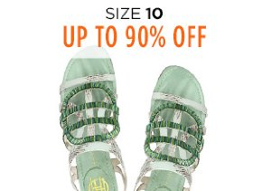 Up to 90% Off Shoes: Size 10