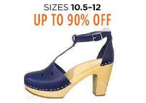Up to 90% Off Shoes: Sizes 10.5-12