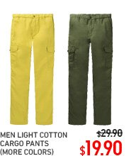 MEN COTTON CARGO PANTS