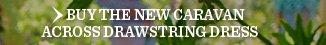 Buy The New Caravan Across Drawstring Dress