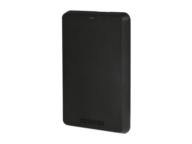 TOSHIBA Canvio Basics 3.0 750GB USB 3.0 Black Portable Hard Drive HDTB107XK3AA