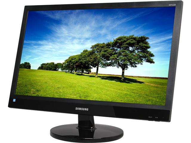 SAMSUNG S27C230B Glossy Black 27 inch 5ms (GTG) Widescreen LED Backlight LCD Monitor 300 cd/m2 Mega Infinite DCR (1000:1)