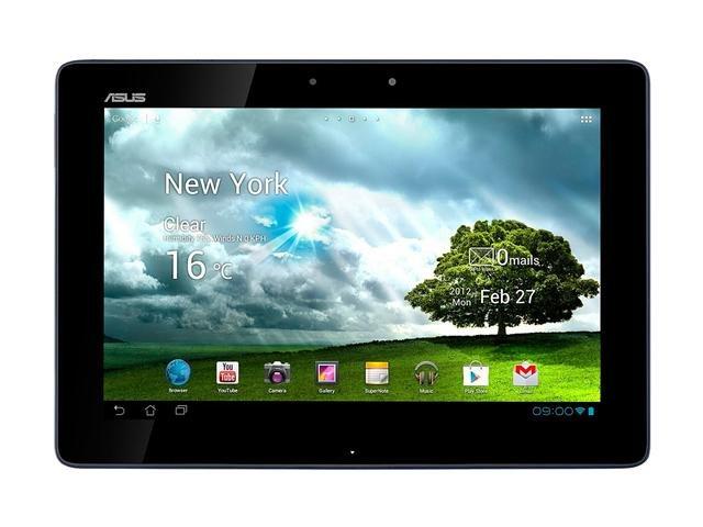 Refurbished: ASUS NVIDIA Tegra 3 1GB Memory 32GB Flash 10.1 inch Transformer Prime - Gray Android 3.2 Honeycomb Platform (upgradable to 4.0 Ice Cream Sandwich) TF201-B1-GR