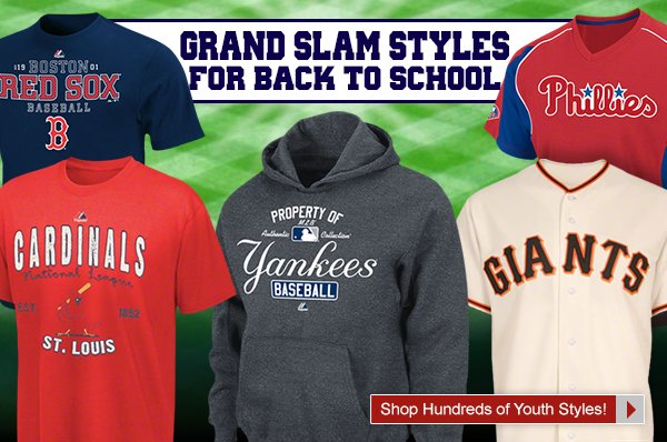 Grand Slam Styles for Back to School