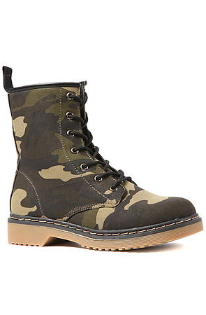 Trenches Combat Boot in Camo by Sole La Vie