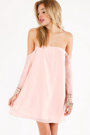 OPHELIA OFF SHOULDER DRESS 40