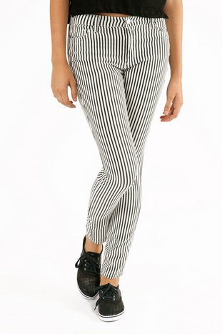 LIZZY STRIPED JEGGINGS 30