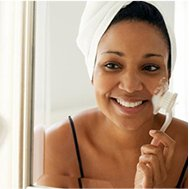EXFOLIATE TO YOUNGER-LOOKING SKIN No matter what kind of skin you have, proper care can keep it at its best.