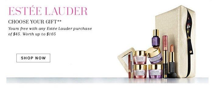 Estee Lauder.** Shop Now.