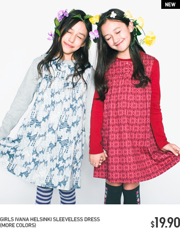 GIRLS IVANA HELSINKI DRESS