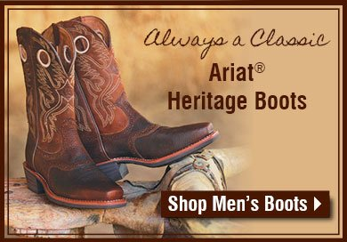 Always A Classic - Ariat Heritage Boots
