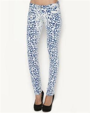 F&J Funky Jeans Wear Printed Stretch Jeans