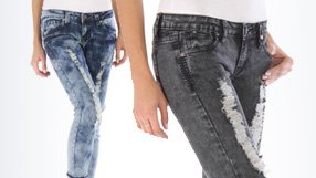 Fall Distressed Skinny Denim by VIP