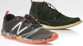 New Balance, Oliberte & more for men