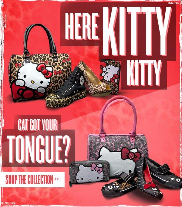 Cat got your tongue? Shop the collection.