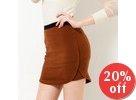 Round-Hem Skirt