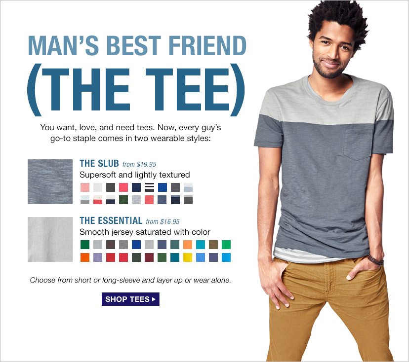 MAN'S BEST FRIEND (THE TEE) | SHOP TEES