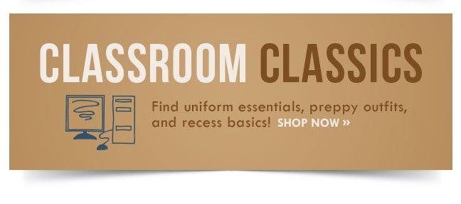 Shop Classroom Classics