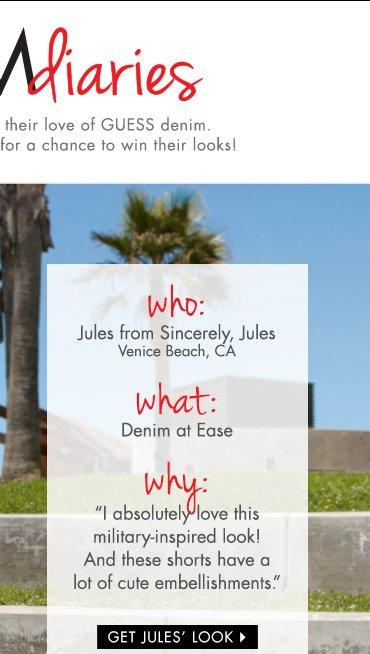 Get Jules' Look