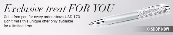 Get a free pen for every order above USD 170