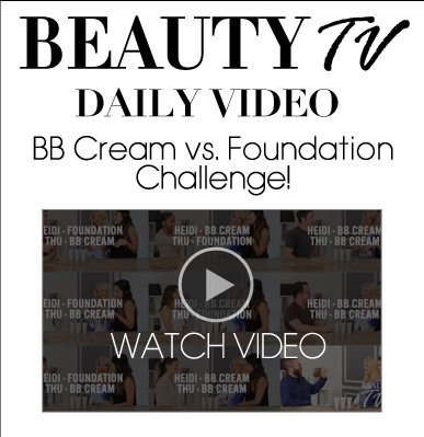 BeautyTV Daily Video A Wrinkle-Reducing BB Cream Think you've seen all variants of BB cream? Think again!  Watch Now>>