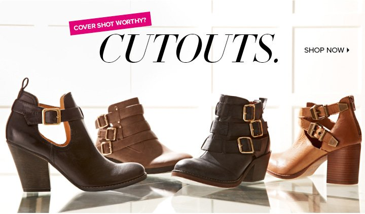 Dsw Trend Alert Cutout Booties Crazy Cool Sneakers Milled