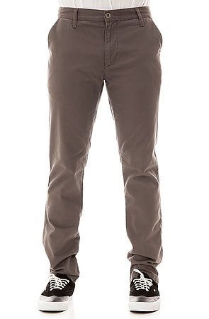 Econ Straight Fit Chino in Gray by Vestis