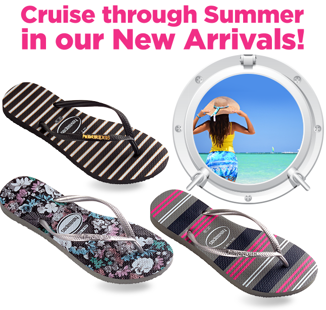 Cruise through Summer in our new arrivals!