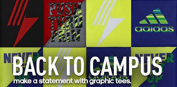 Shop adidas Graphic Tees »