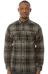 Thurstin Buttondown Shirt in Black