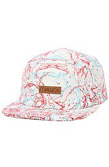 3-Destroy 5-Panel in White