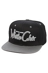 Whitechix Snapback in Black