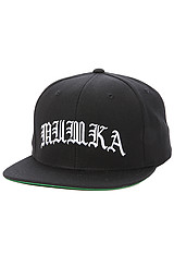 Olde School Snapback in Black