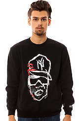 Hov 81 Crewneck Sweatshirt in Black