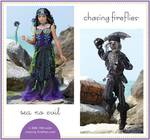 Dark and stormy sea costumes