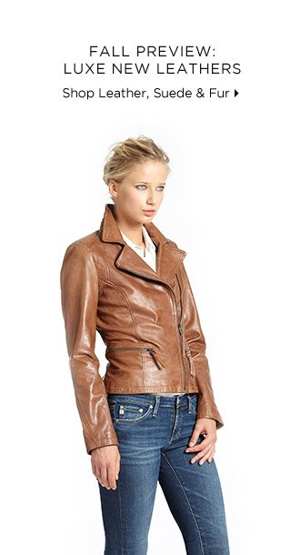 Fall Preview: Luxe New Leathers