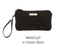 Wristlet in Classic Black