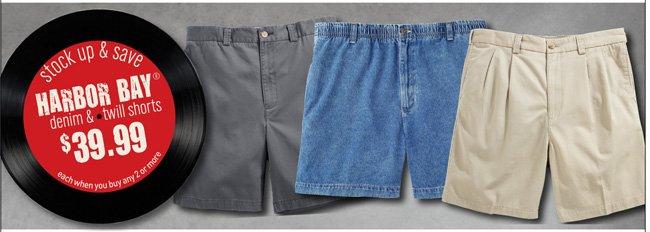 Harbor Bay & Canyon Ridge Shorts Mix and Match