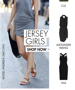 JERSEY GIRLS. UP TO 65% OFF