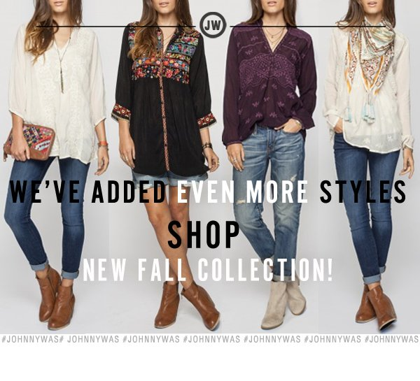 Even More Styles Added to New Arrivals!
