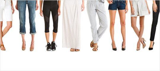 From the Bottom Up:Jeans, Dress Pants, & More