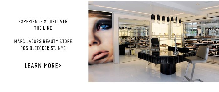 Marc Jacobs | Beauty Store, Bleecker St, NYC