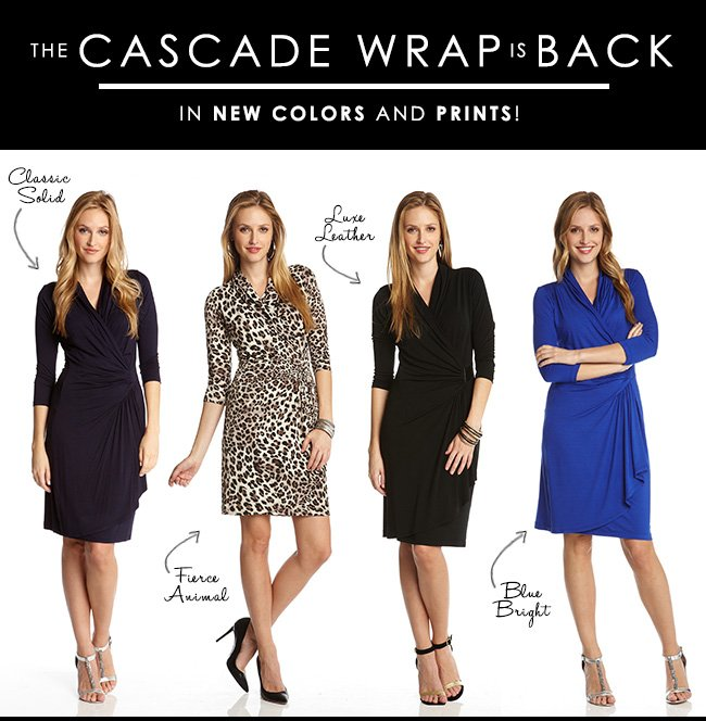 The Cascade Wrap - New Colors