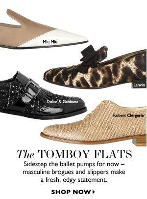 THE TOMBOY FLATS. SHOP NOW